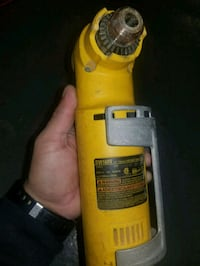 yellow and black DEWALT angle drill Bronx, 10455