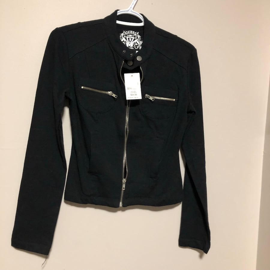 Guess Zip-up Sweater Size S