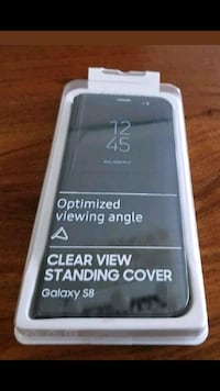 Samsung S8 Clear View Standing Cover Case Los Alamitos, 90720