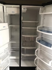 White side-by-side refrigerator Arlington, 76002