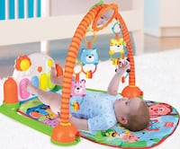 baby's orange and blue kick piano activity mat Markham, L3S