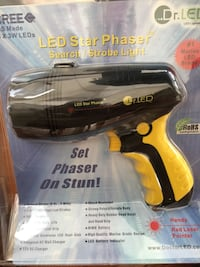 LED Phaser Search - Strobe Light Rechargeable NEW