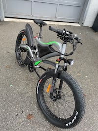 Brand new Fujiang electric bike North Vancouver, V7P 1T1