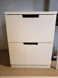 IKEA Nordli Series two drawer chest