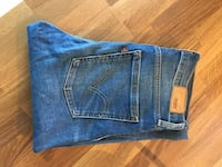 Levis high rise skinny str 26/32