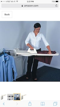 Ironing clothes iron board wall mount center unit walmount