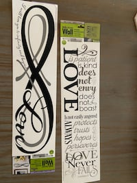 Love Translucent Wall Stickers
