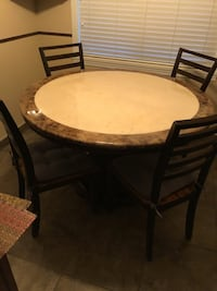 Round Dining Table Set Vancouver, V5M