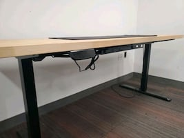 Wooden Top Standing Desk
