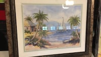 brown wooden framed painting of trees Middletown, 10940
