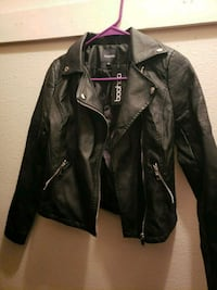 Faux leather bike jacket El Paso, 79925