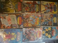 The new teen titans comic books. Langley City, V3A 7Z2