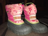 Sorel Toddler Winter Boots sz 11 Winnipeg, R3Y 0L2