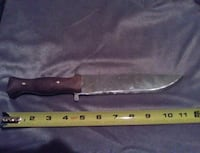 Hand forged Bowie knife Springfield, 65803