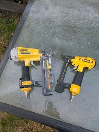 two yellow and black cordless power tools Edmonton, T6E 0J2