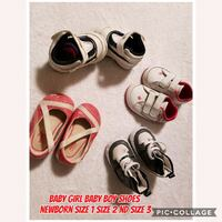 toddler's four pairs of shoes Nanaimo, V9R 1M1