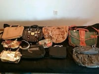 Lot of purses