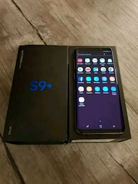 Samsung Galaxy s9 Plus - factory unlocked with box Sterling