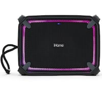 iHome iBT374 Weather Tough Portable Rechargeable Bluetooth Speaker Mississauga