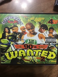 The 90's Most Wanted poster Visalia