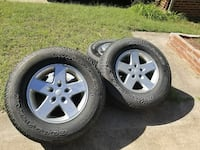 wheels and tires $70 each