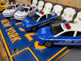 NYPD Police TOY CAR
