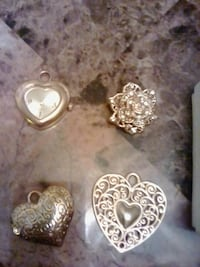 four assorted silver-colored pendants Fresno, 93727