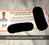 six flags season pass New Braunfels, 78130