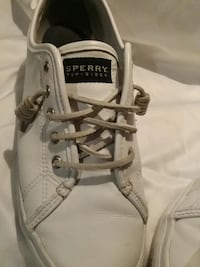 Sperry top sider seacoast size 10 white leather  Myrtle Beach, 29577