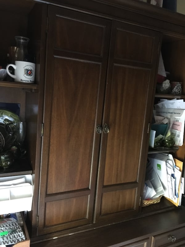 Antique German Hutch & Cabinet-reduced to $500 was $750! c8471e6b-c5db-437c-8759-9c70f55d5239