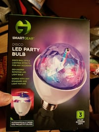 Smart Gear Disco LED party bulb box Broken Arrow, 74012