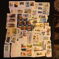 Stamps Europe  over 75 stamps. On paper See description Toronto, M6R 2L5