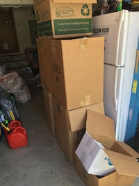 Seven moving boxes free and also a bag of packing paper and some newspapers Chesapeake, 23320
