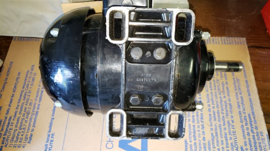 Electric motor 3/4 HP Never used 7a3c8bea-4817-4183-8462-3a153301faf8