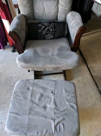 Rocking chair with foot rest West Bloomfield Township, 48322