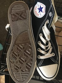 Pair of black converse all star low-top sneakers Sacramento, 95828