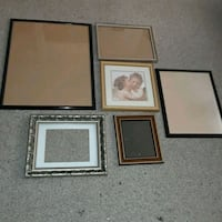 """Frames, largest is 23x29"""", all 6 for $7 Liverpool, 13090"""