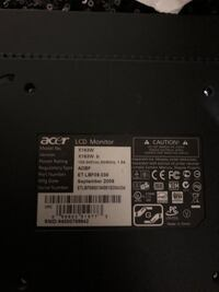 ACER MONITOR X163w Baltimore, 21205