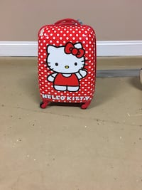 Red hello kitty rolling travel bag for kids Madison, 35756