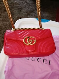 Gucci Marmont made of leather Bellflower, 90706