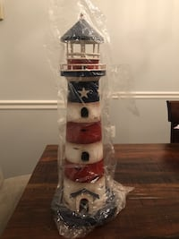 Patriotic Decorative Lighthouse Alexandria, 22304