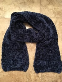 Soft blue scarf