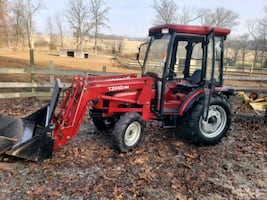 35 hp tractor with cab