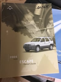 Ford Escape 2004 Owner's Manual