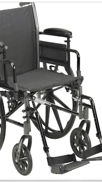 Manual wheelchair with anti pressure cushion included . Surrey, V4N 5R4