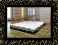 Singlesided pillowtop mattress with mattress Laurel