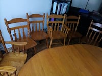 four brown wooden windsor chairs Ontario, K1J 1A4