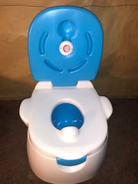 white and blue potty trainer Ontario, 91764