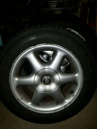 Winter tires on mags