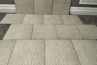 "Brand New 12"" x 12"" Beige Ceramic Tiles"